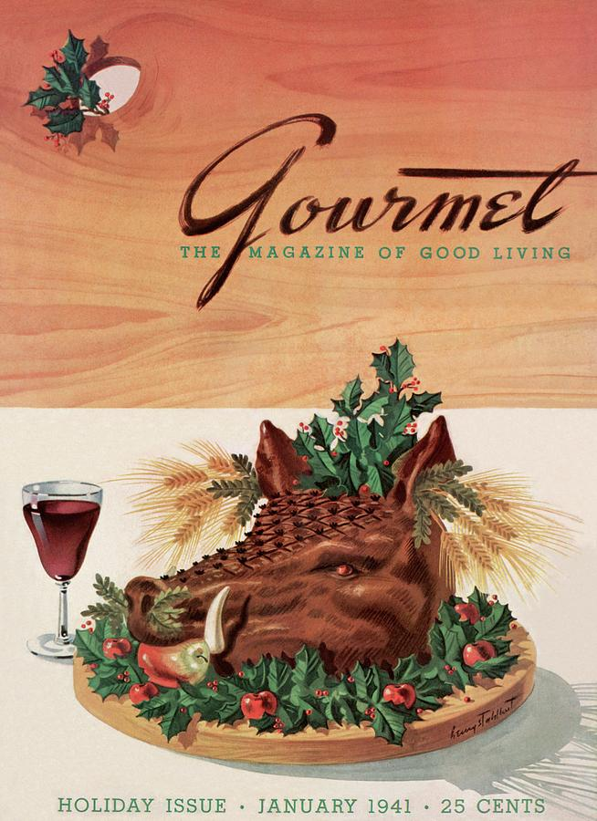 First issue Gourmet magazine. January 1941.