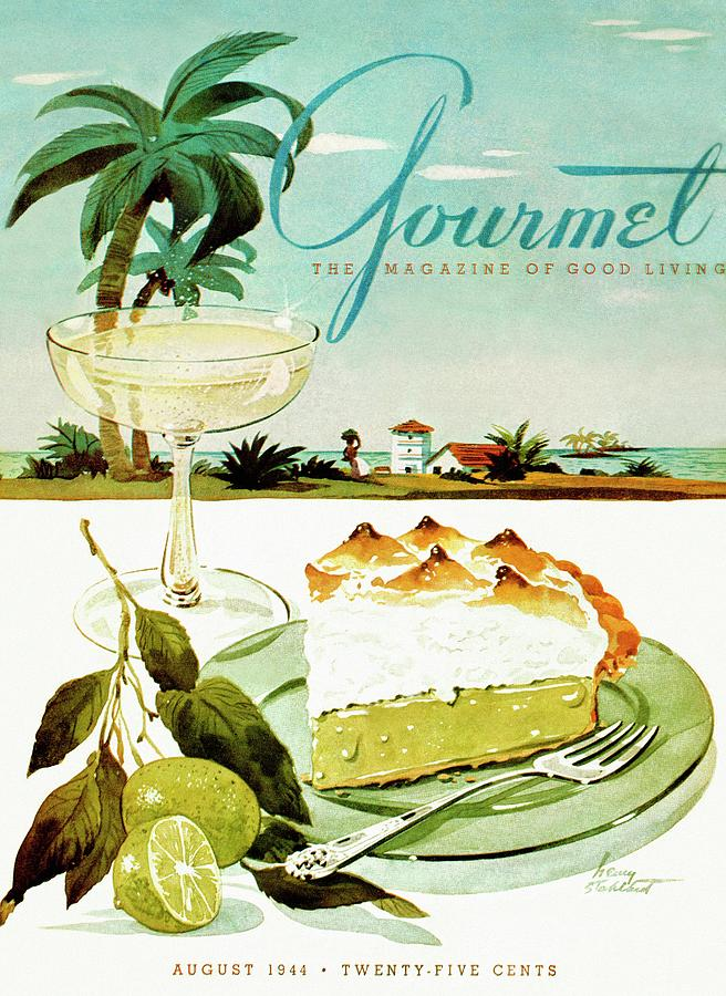 Gourmet Magazine August 1944
