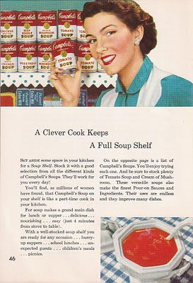 1950s Campbell Soup Ad