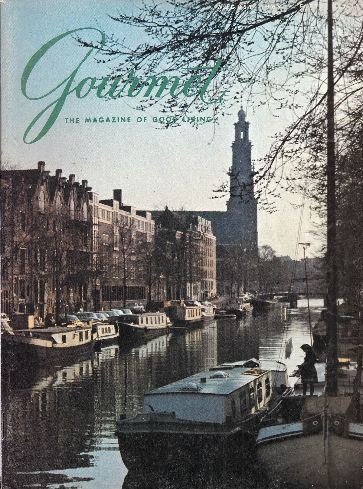 Gourmet Magazine 1969, travel themes