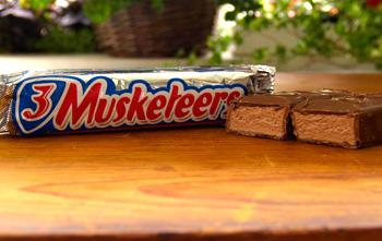 3 Musketeers Bars