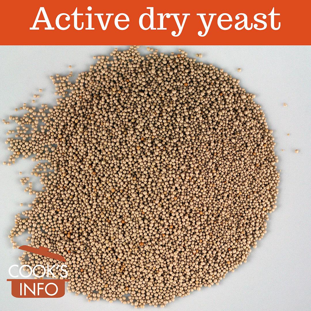 Active dry yeast.