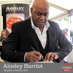 Ainsley Harriott at Taste of London, June 2010.