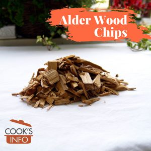 Alder Wood Chips for Smoking Food