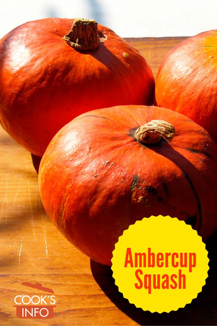 Ambercup squash