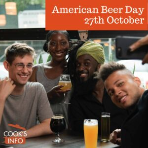Young people having beer in a café