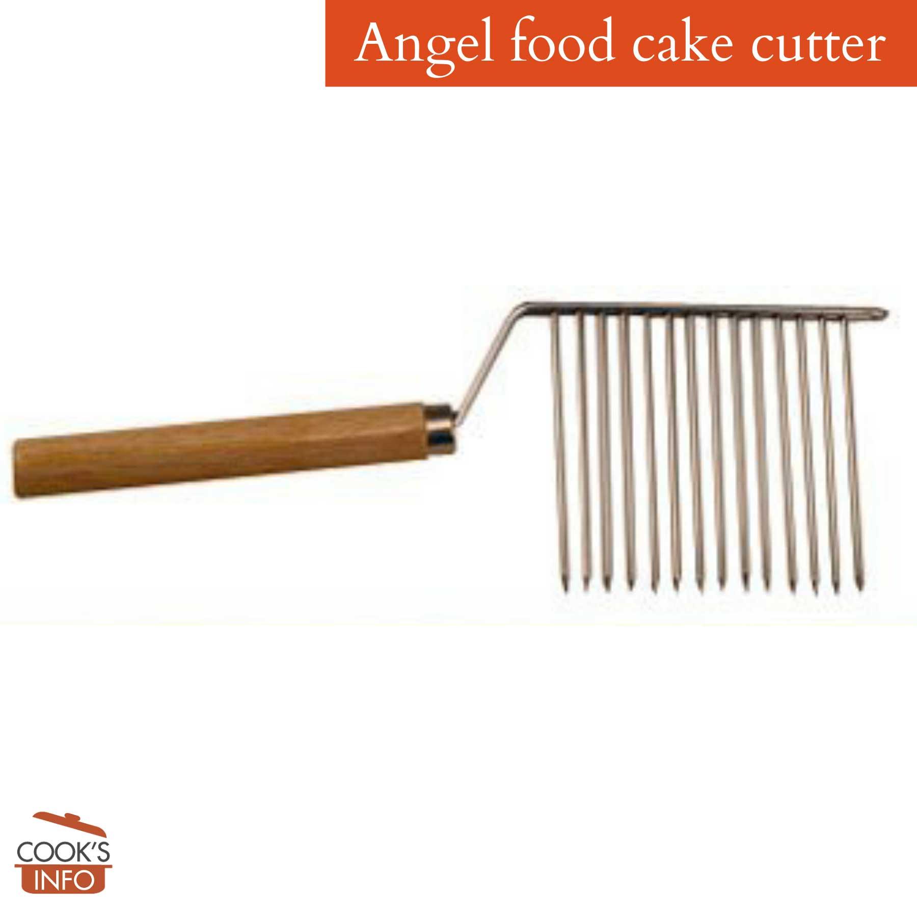 Angel food cake cutter