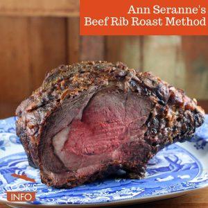 Ann Seranne Method for Rib Roast of Beef