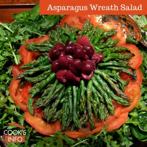 Asparagus Wreath Salad