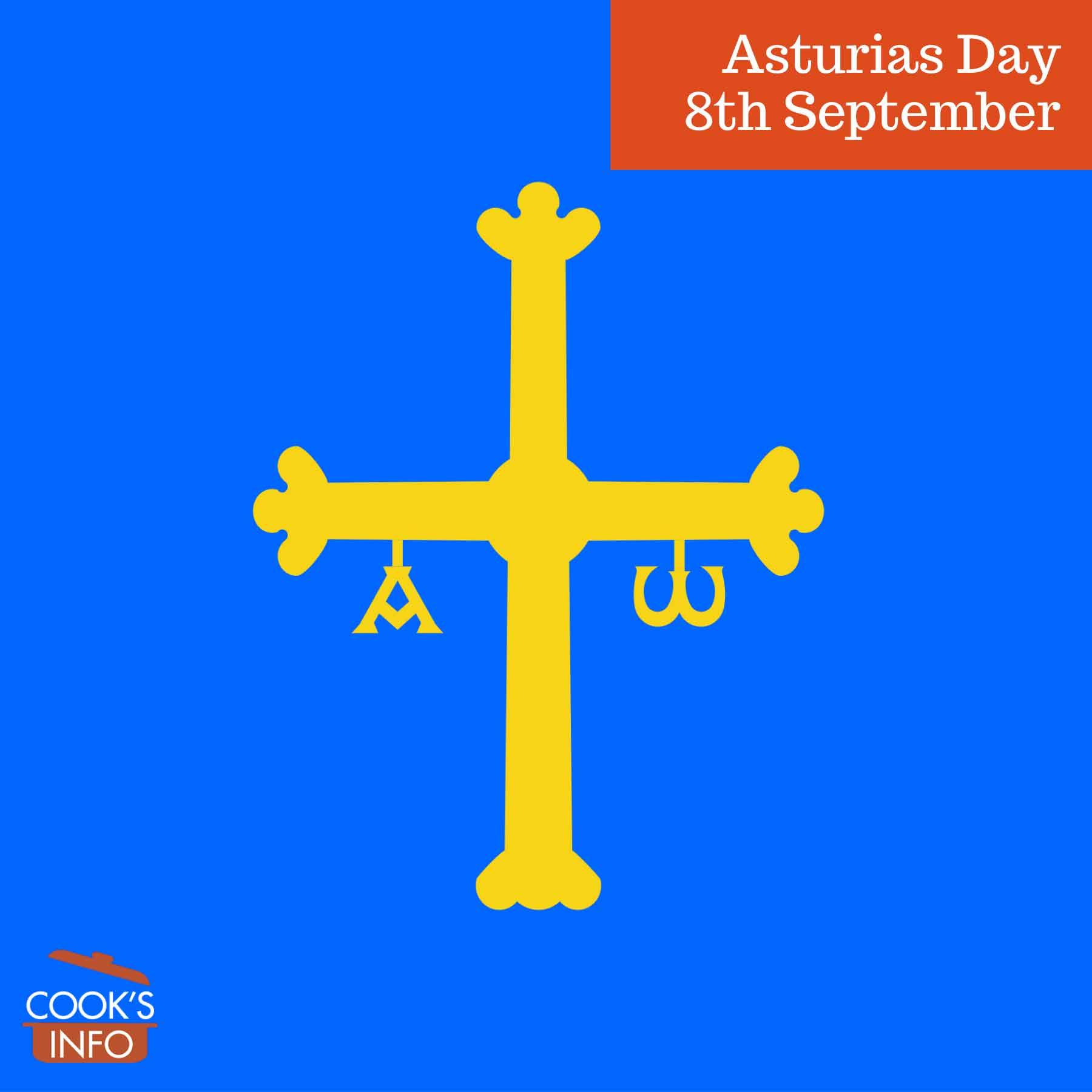 Flag of Asturias.