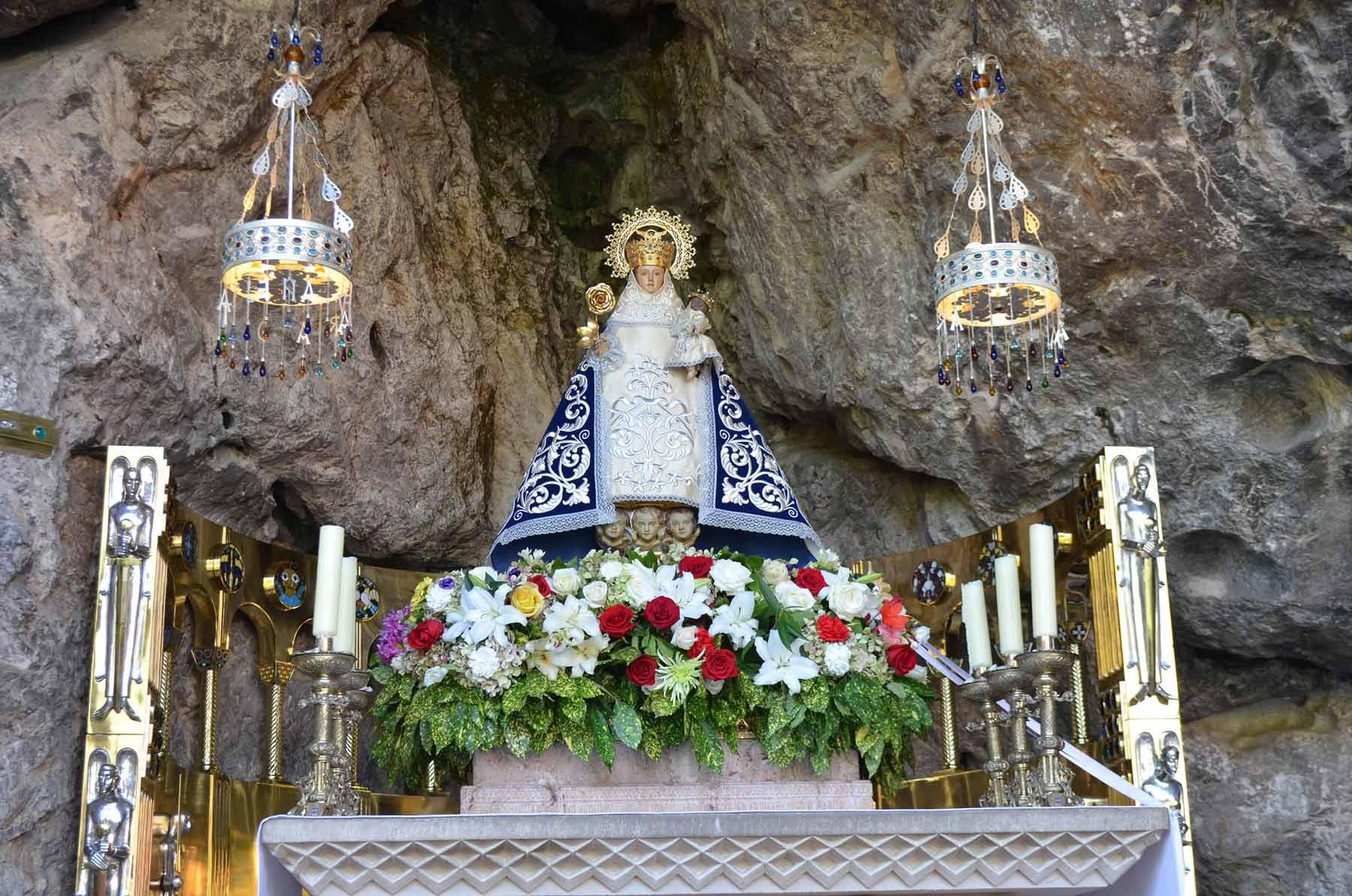 The Virgin of Covadonga