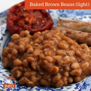 Baked Brown Beans (Light)