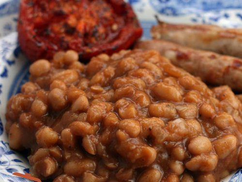 Baked Brown Beans Light