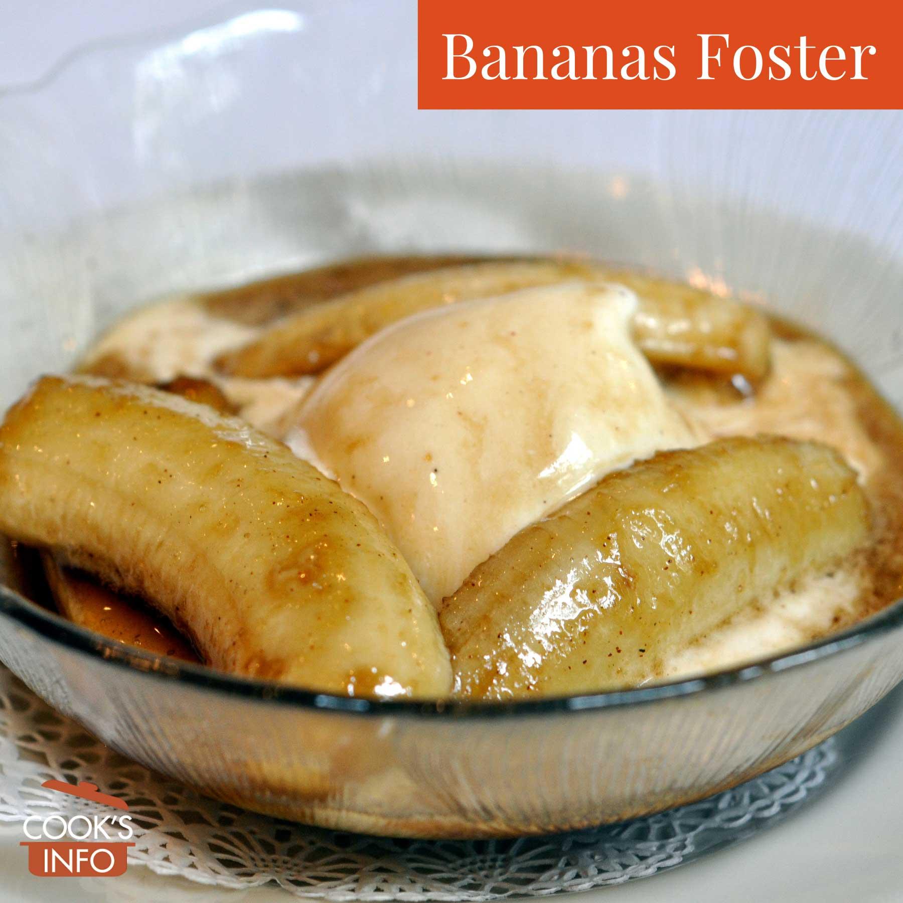 Bananas Foster as served at Brennan's