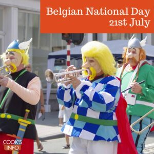 Parade on Belgian National Day