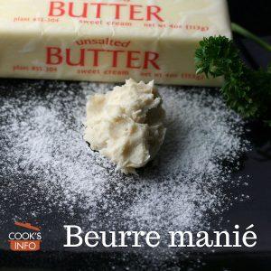 Beurre Manie