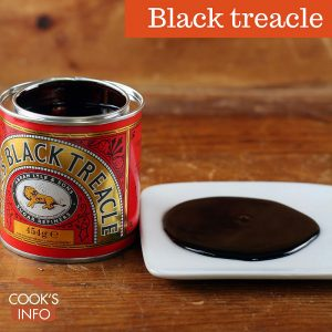 Black treacle tin