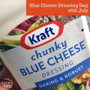 Blue cheese dressing in bottle