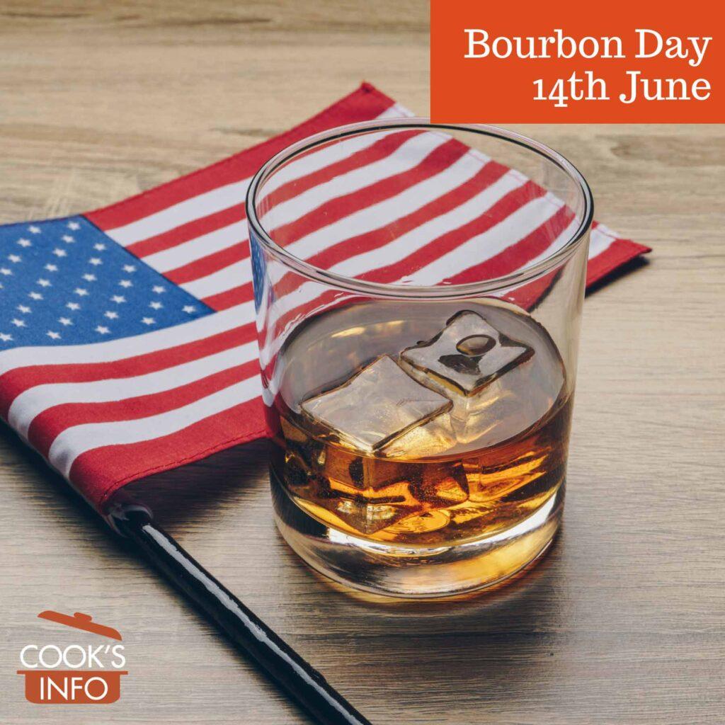 Bourbon with flag