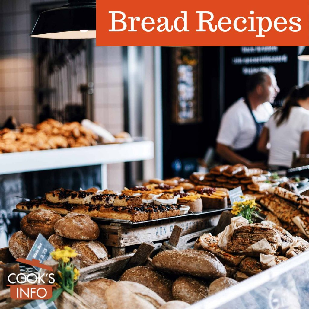 Bread in a bakery