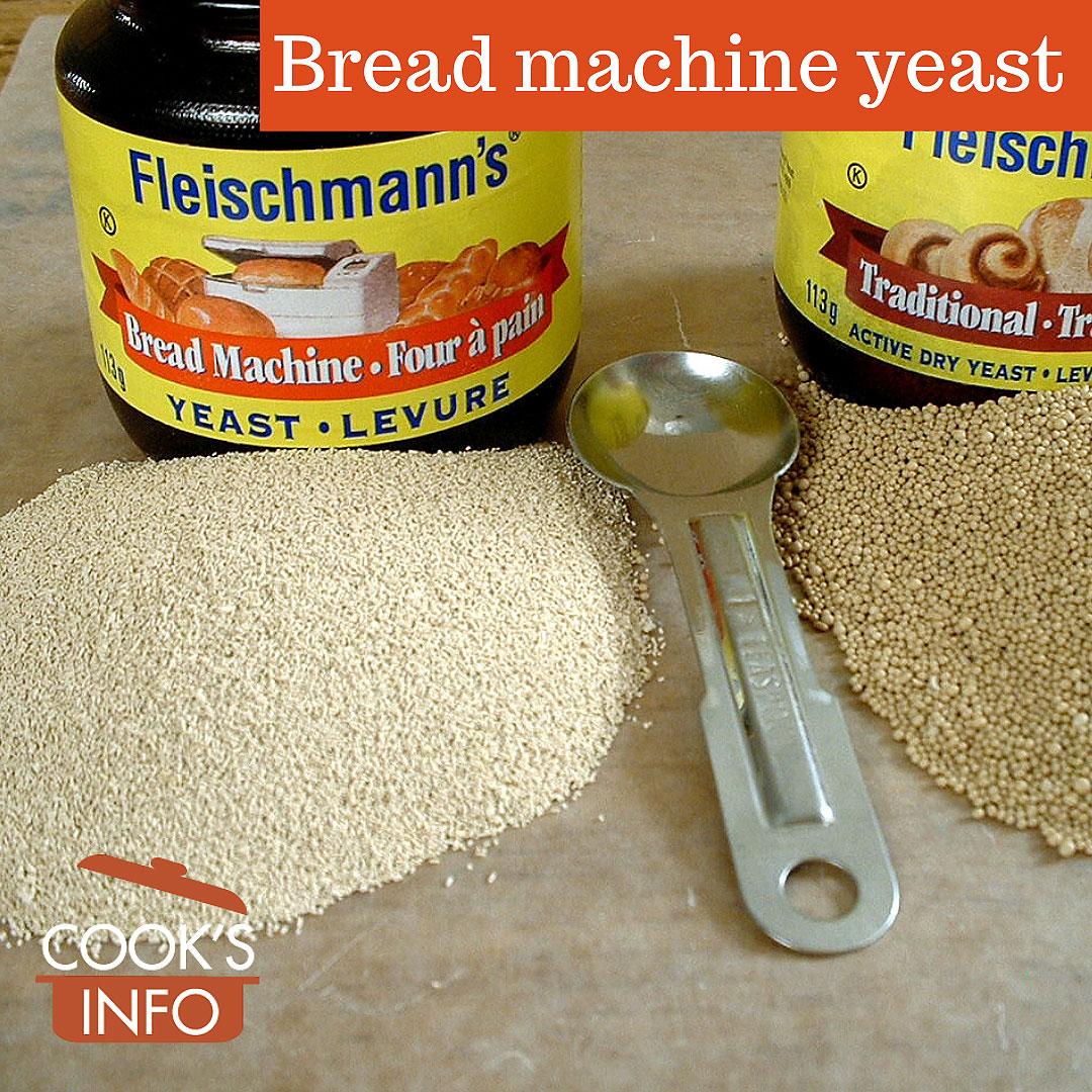 Bread machine yeast