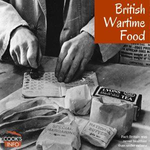 British Wartime Food