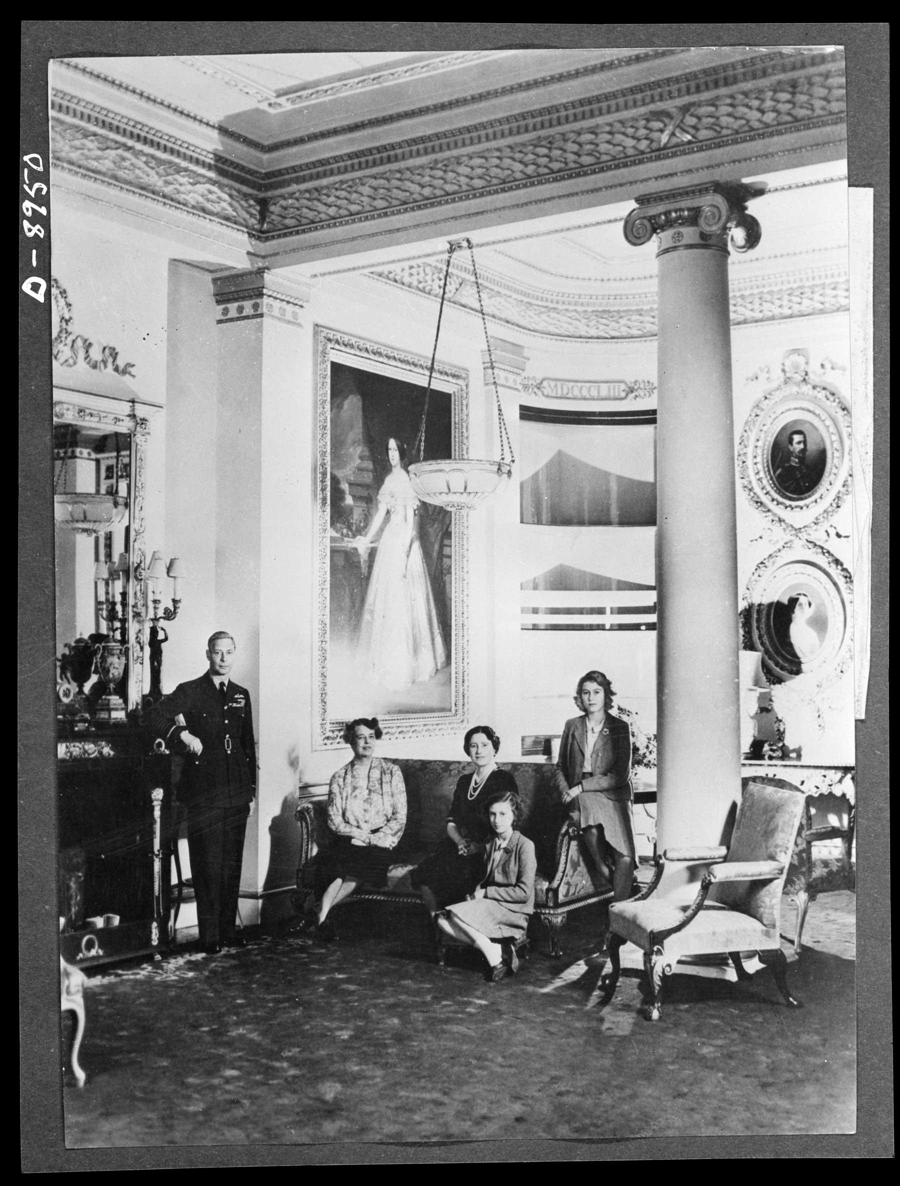 Eleanor Roosevelt at Buckingham Palace
