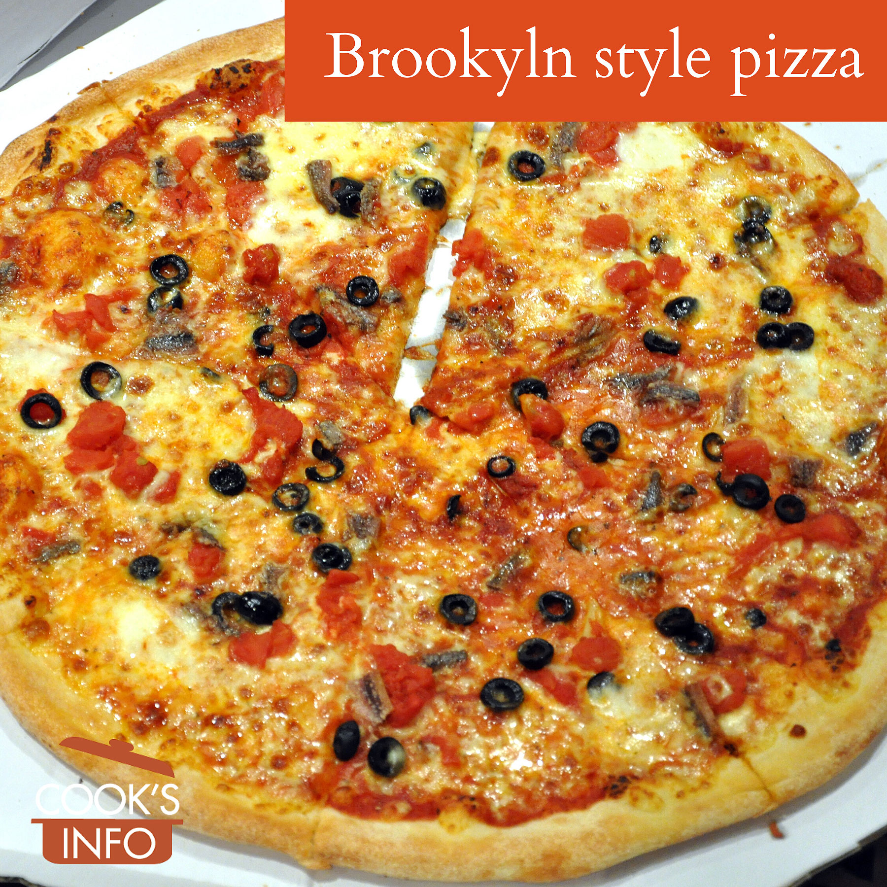Brooklyn style pizza from Domino's