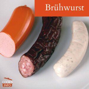 Brühwurst
