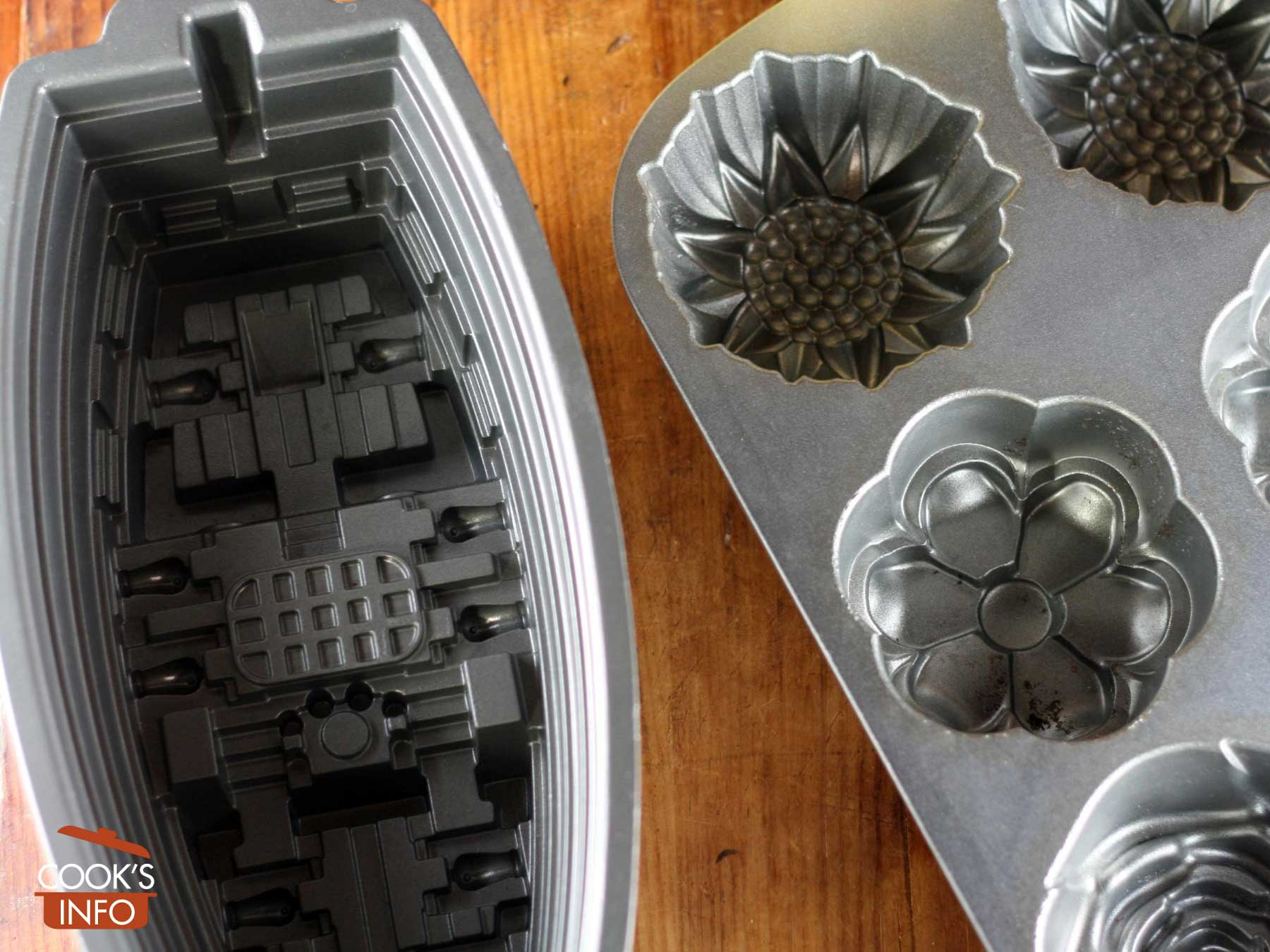 Bundt pans interior