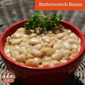 Butterscotch beans