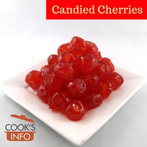 Candied Cherries