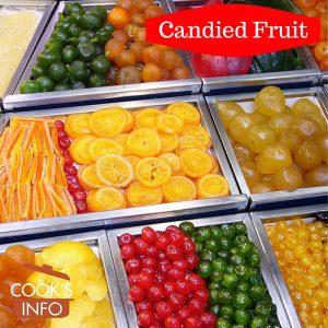 """Candied fruit, """"La Boquería"""" market in Barcelona"""