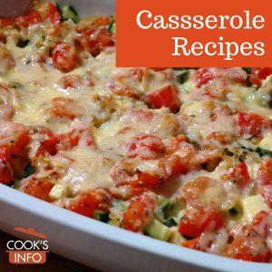 Cheese and tomato casserole