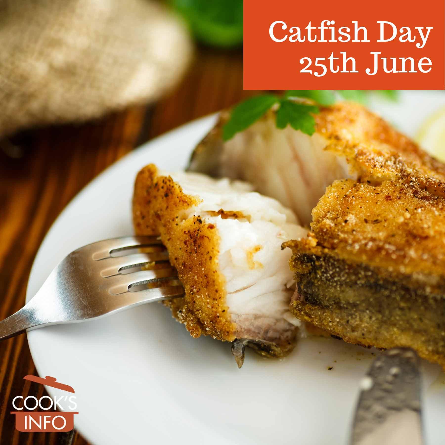 Catfish fried in batter