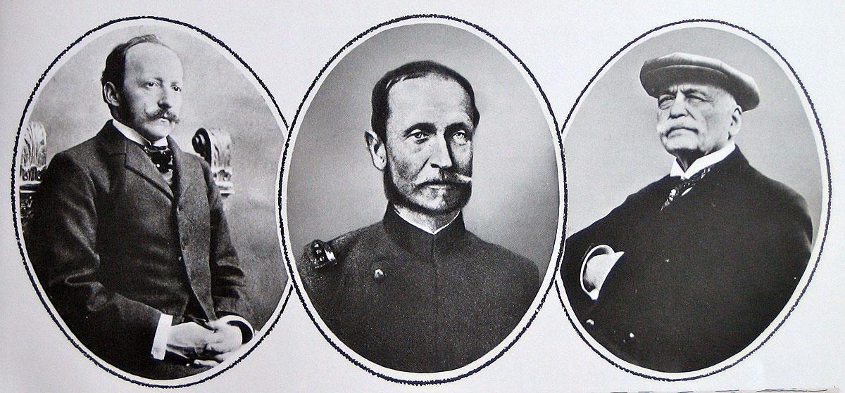 Cesar Ritz, Max Pfyffer, Auguste Escoffier