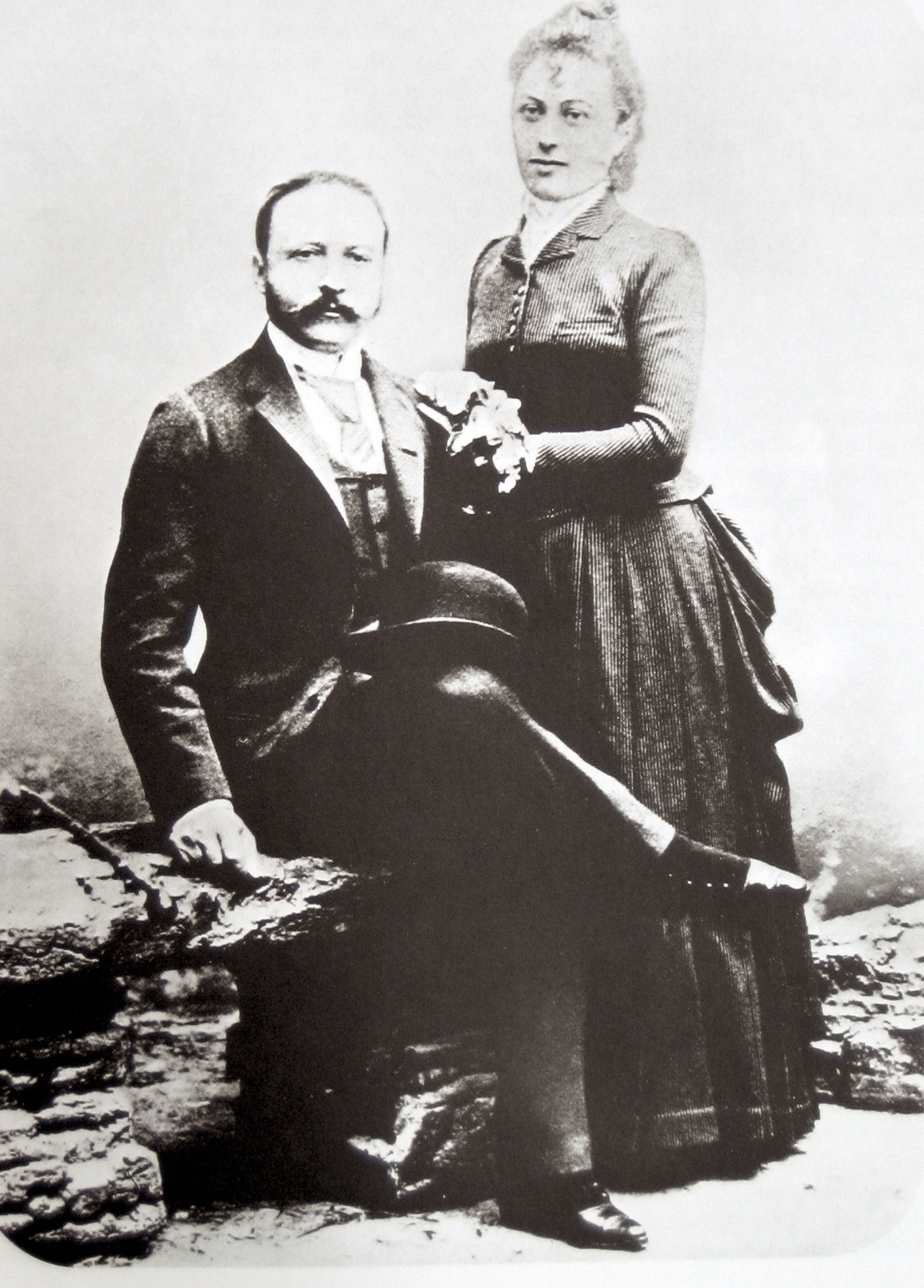 Cesar and Marie Louise Ritz