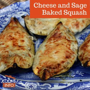 Cheese and Sage Baked Squash