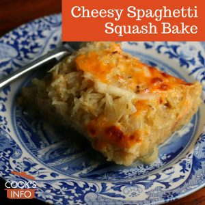 Cheesy Spaghetti Squash Bake