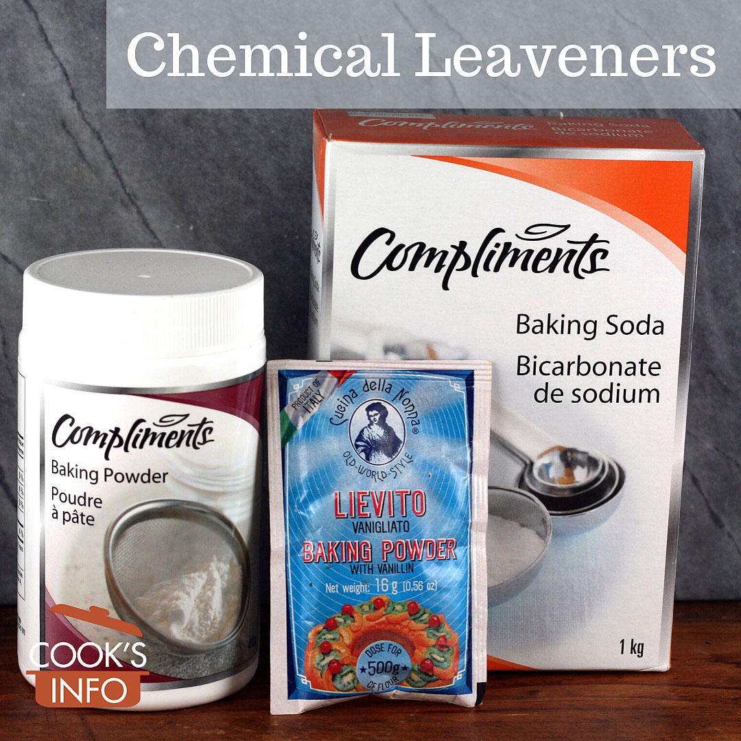 Chemical leaveners