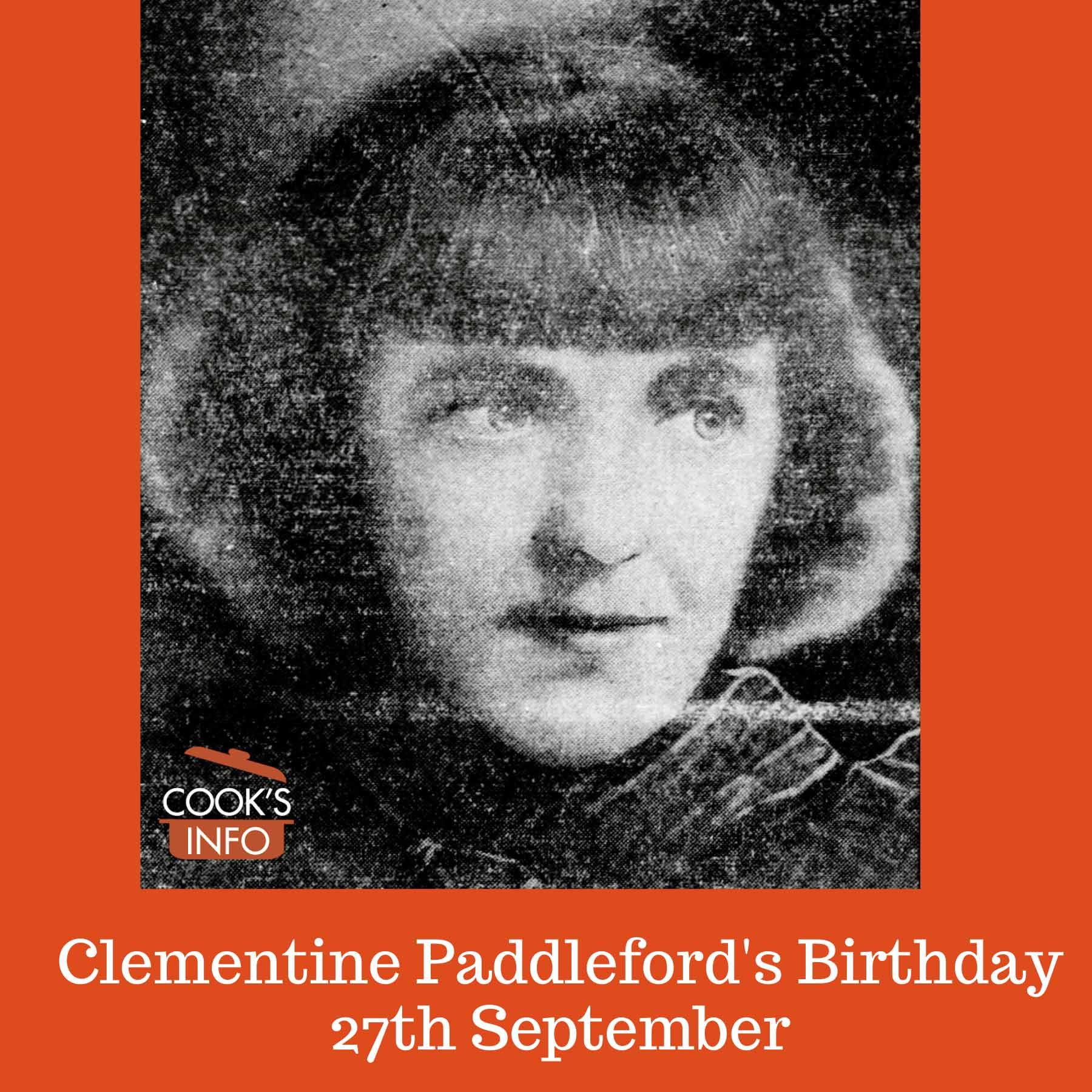 Clementine Paddleford, 1939