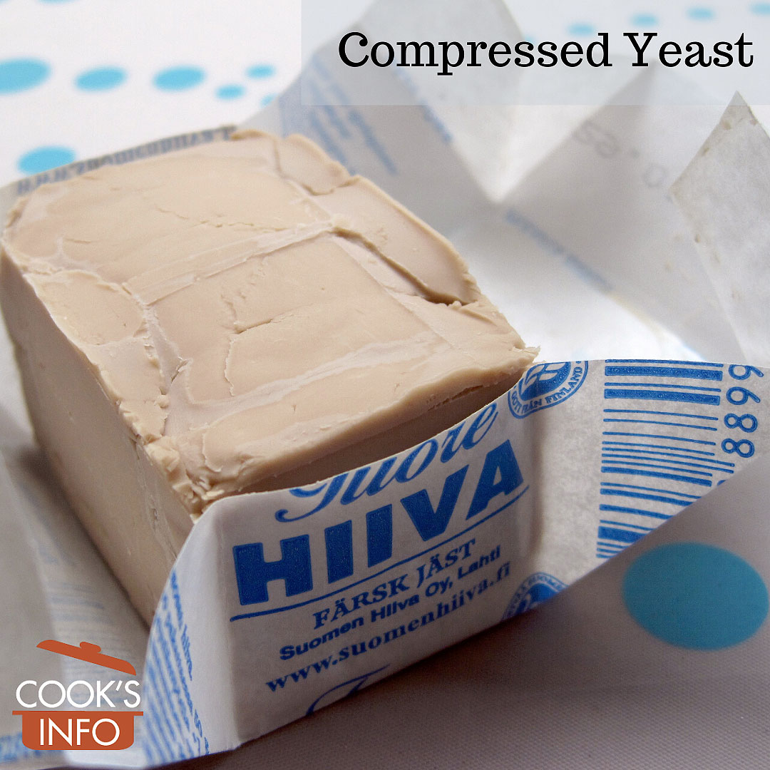 Compressed yeast