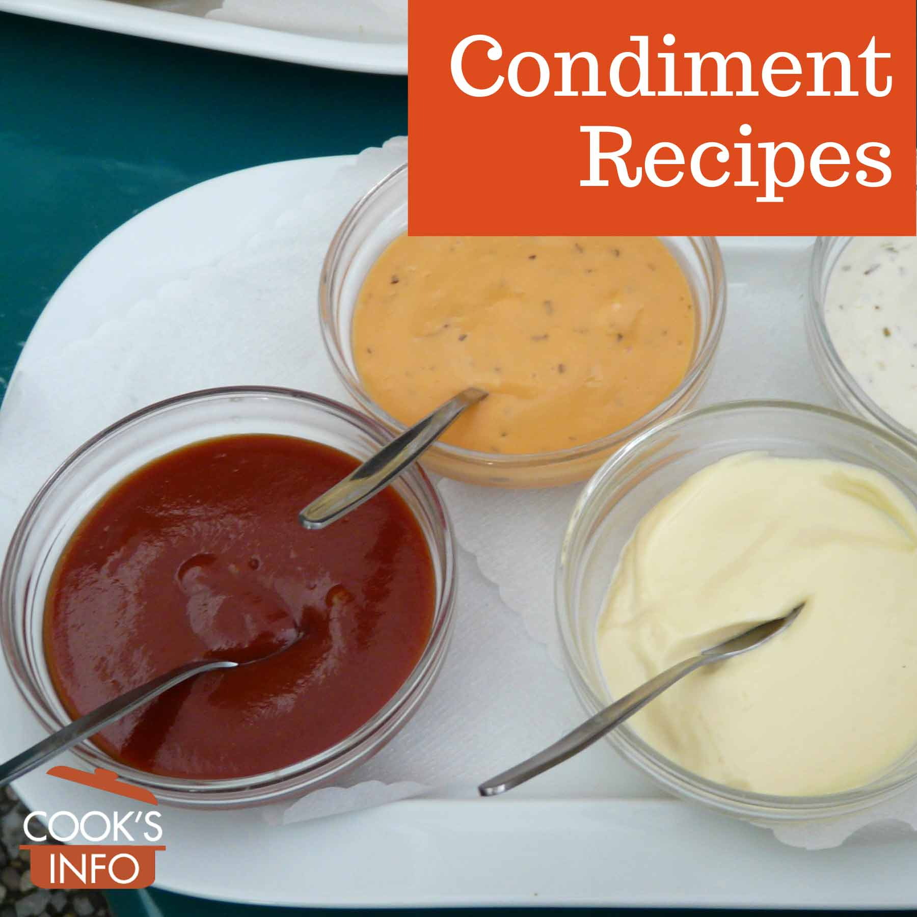 Condiments and dips