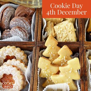Assorted cookies in box