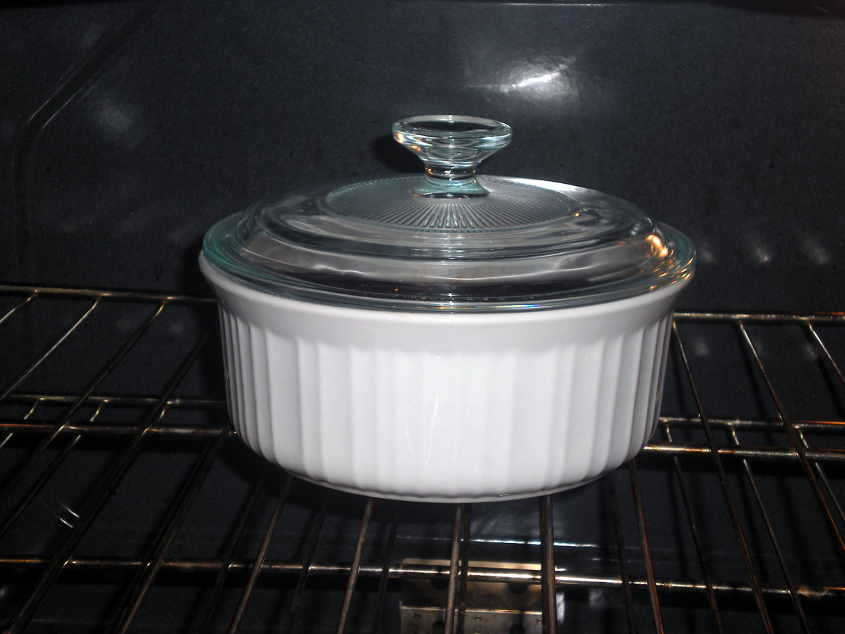 Corningware, French white design