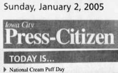 Cream Puff Day 2005
