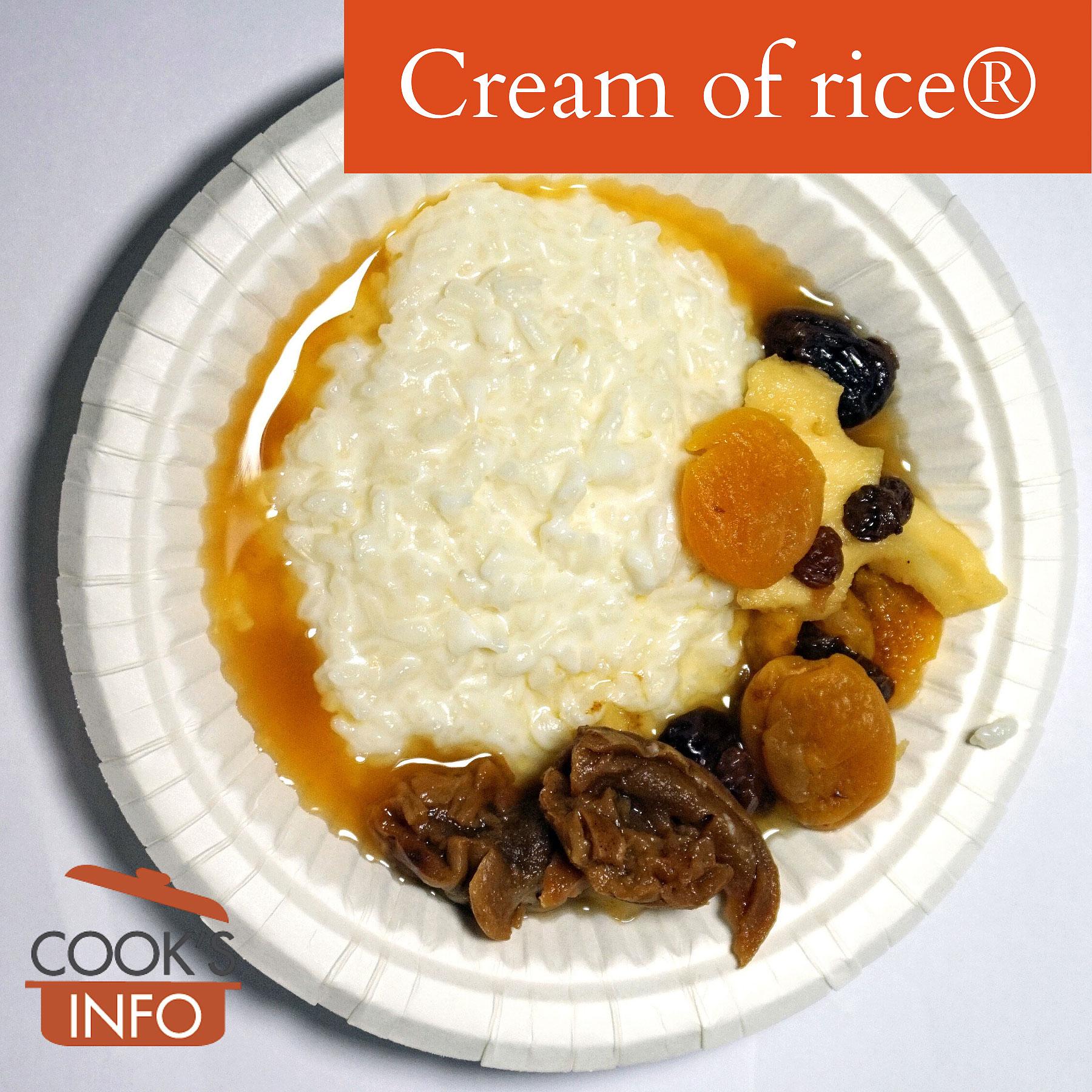 Cream of Rice porridge