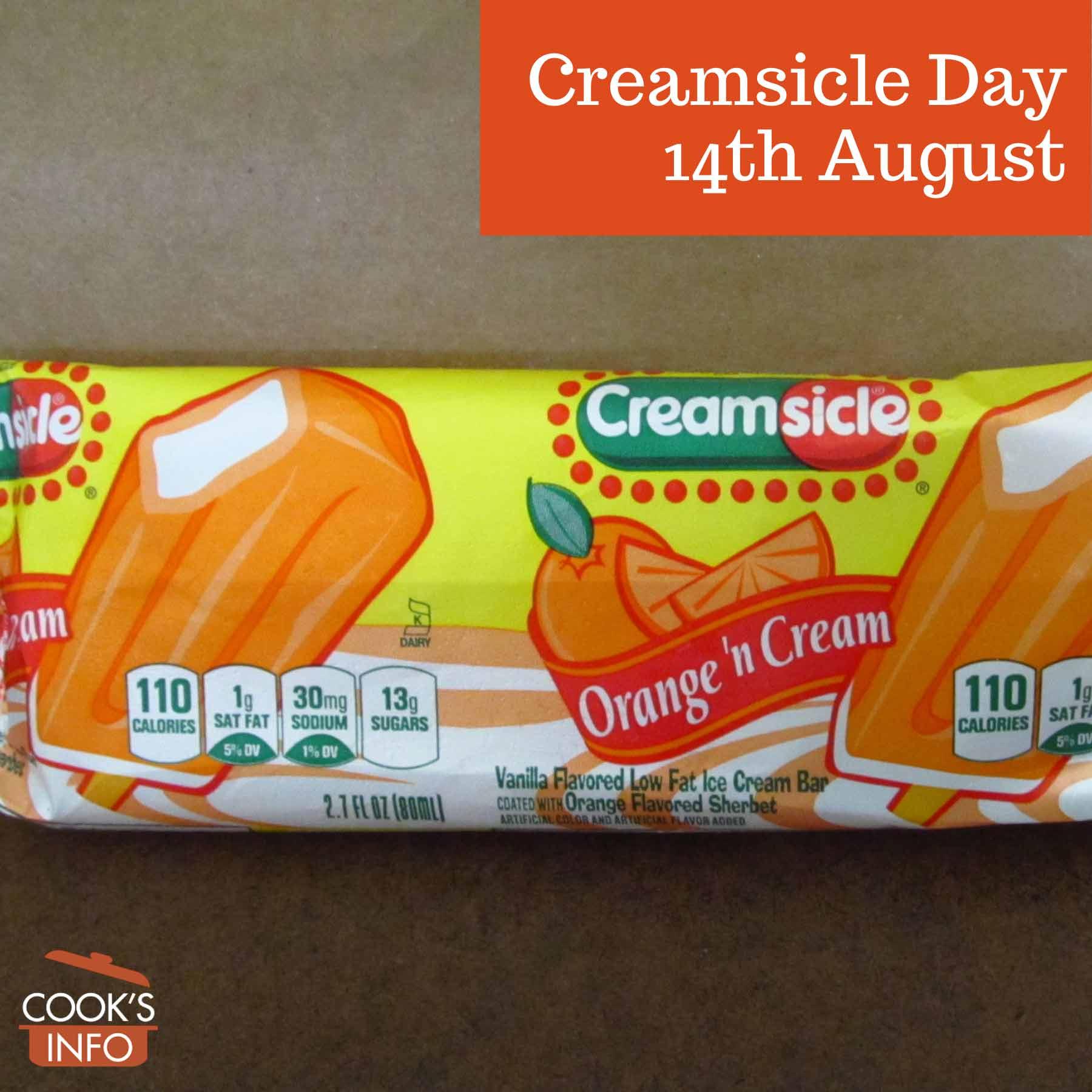 Creamsicle in package