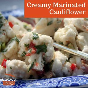 Creamy Marinated Cauliflower Salad