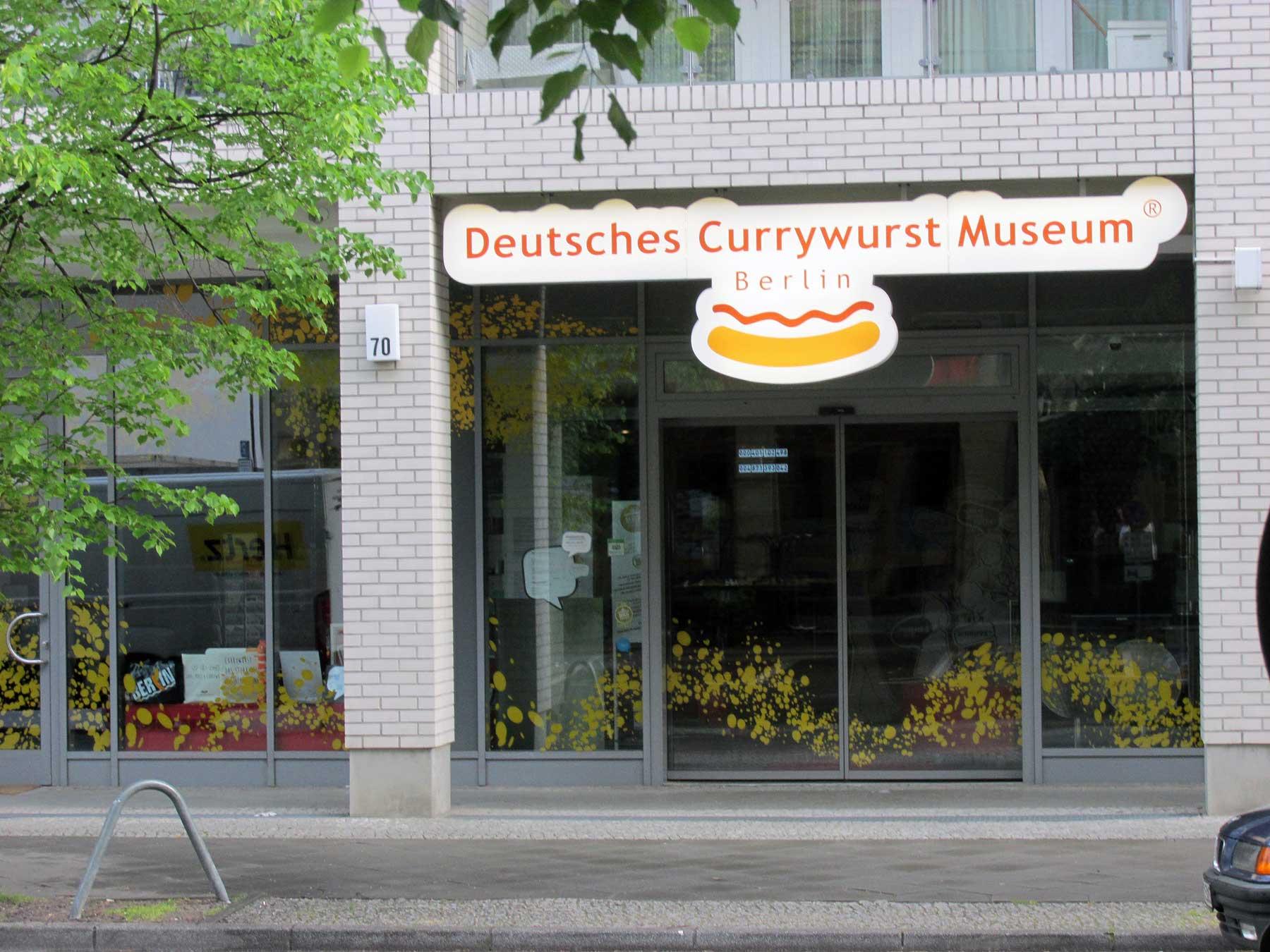 German Currywurst Museum at 70 Schützenstraße, Berlin, in 2015